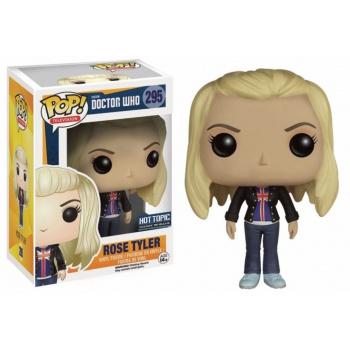 Doctor who figurine pop rose tyler vinyl figure 10cm