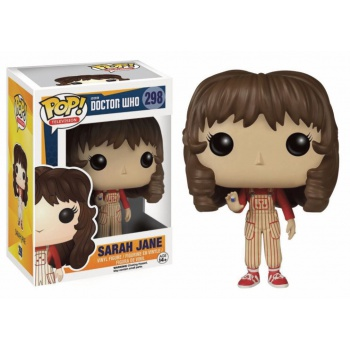 Doctor who figurine pop sarah jane vinyl figure 10cm