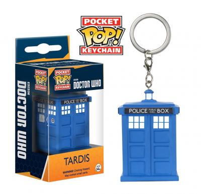 DOCTOR WHO Funko POP Keychains - Tardis Vinyl Figure 4cm