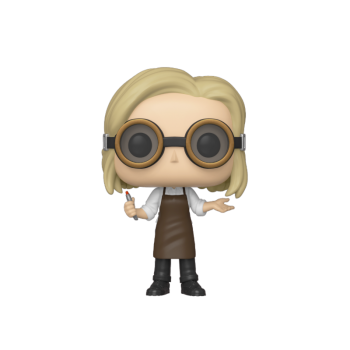 Doctor who funko pop television 13th doctor w goggles vinyl figure 10cm