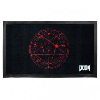 Doom doormat pentagram