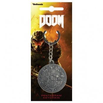 Doom Keychain - Pentagram