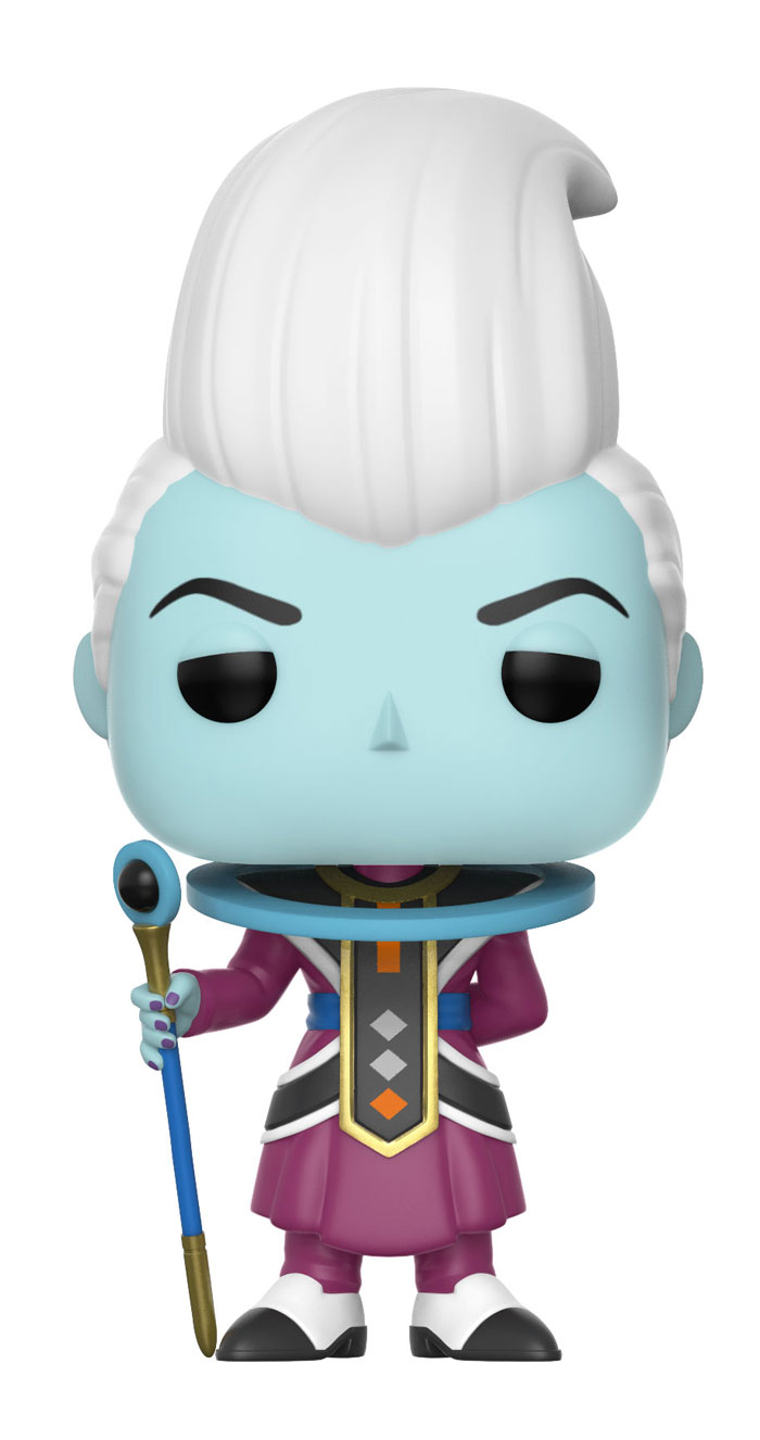 Dragonball super pop animation whis vinyl figure 10cm