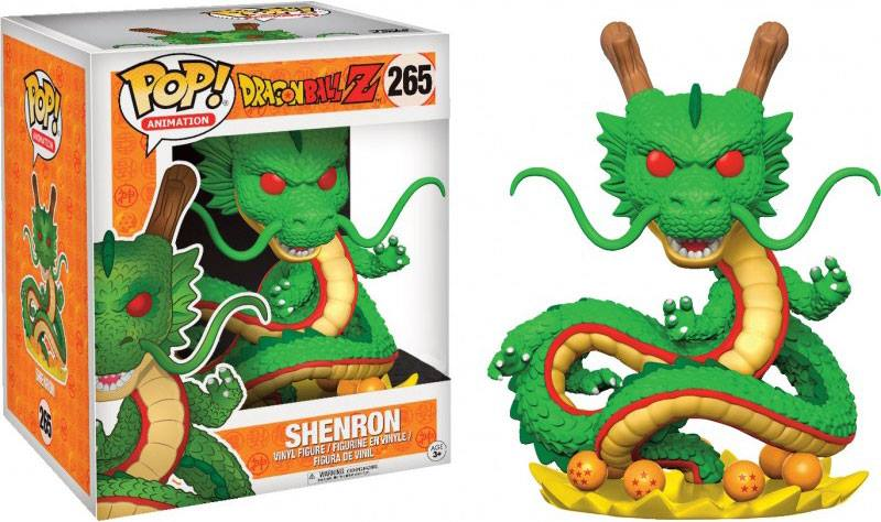 Dragonball z figurine pop animation shenron oversized 15cm 1