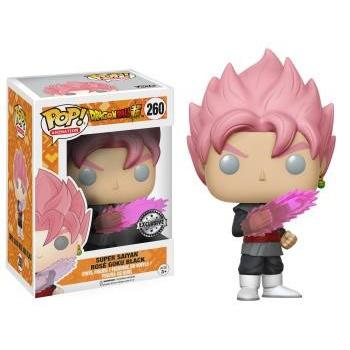 DRAGONBALL Z Pop Animation - Super Saiyan Rose Goku Vinyl Figure 4-inch
