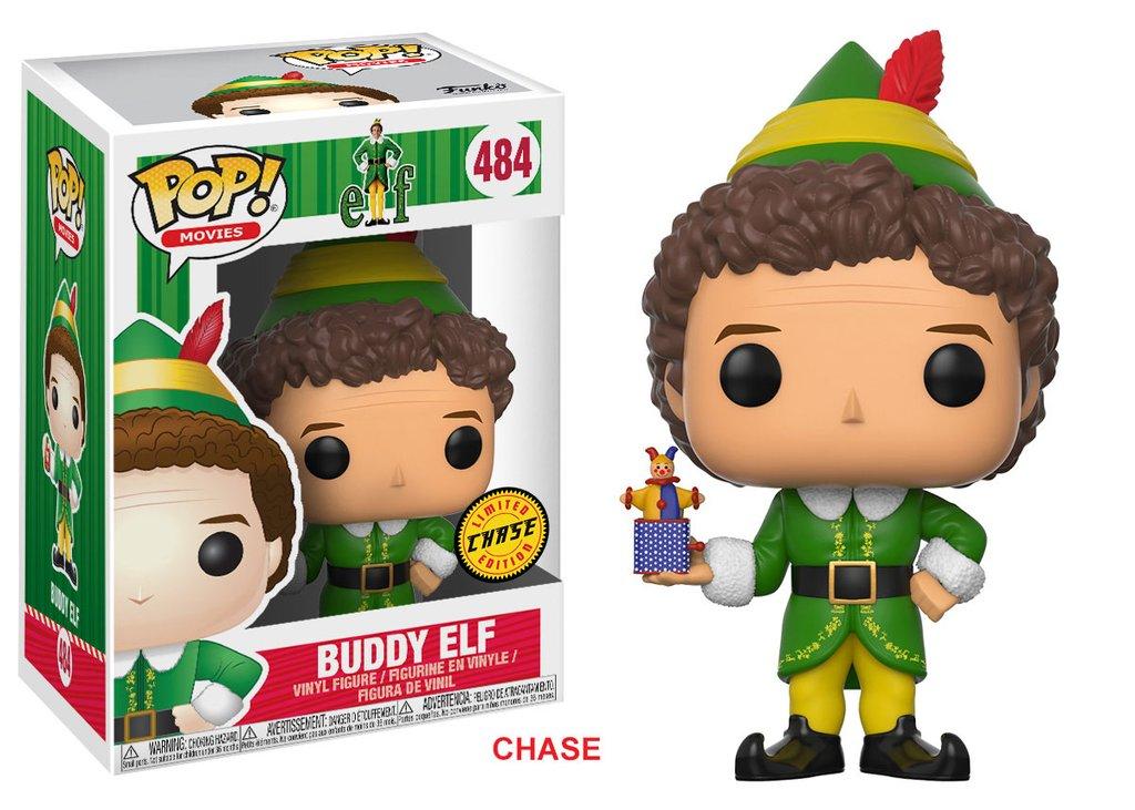Elf funko pop movies buddy elf vinyl figure 10cm chase