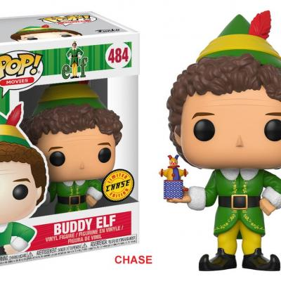 ELF - FUNKO POP Movies - Buddy Elf Vinyl Figure 10cm Chase