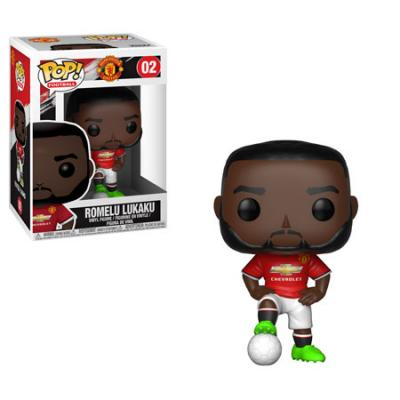 FOOTBALL - Funko POP Football - Man United - Romelu Lukaku Vinyl Figure 10cm