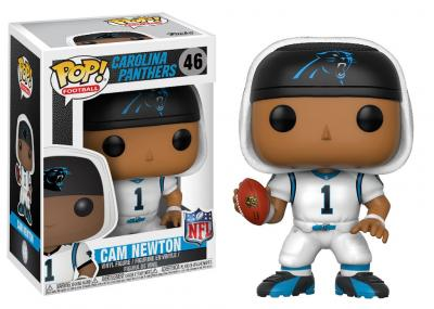 FOOTBALL NFL - Funko POP Football - Panthers White - Cam Newton Vinyl Figure 10cm