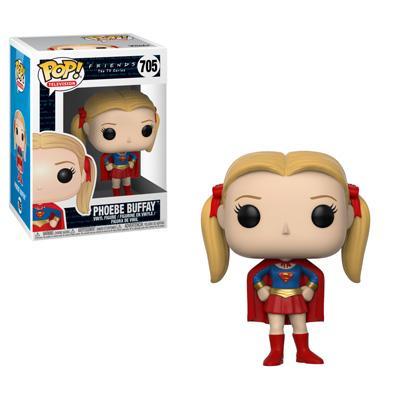 FRIENDS Funko POP - Phoebe as Supergirl Vinyl Figure 10cm