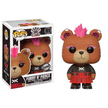 Furry n fierce funko pop build a bear furry n fierce vinyl figure 10cm limited