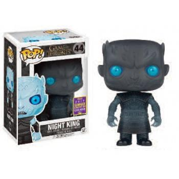 Game Of Thrones Figurine POP -  Translucent Night King Vinyl Figure 10cm SDCC 2017 limited