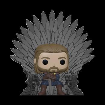 GAME OF THRONES - Funko POP Deluxe - Ned Stark on Throne