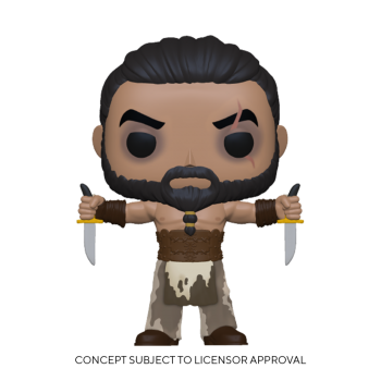 Game of thrones funko pop khal drogo w daggers