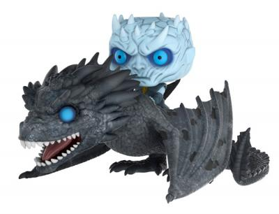 Game Of Thrones - Funko POP Rides - Night King on Viserion Vinyl Figure Set 12cm/15cm long