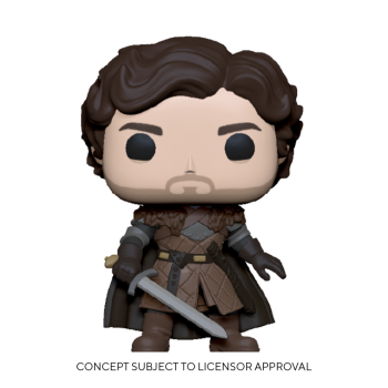 Game of thrones funko pop robb stark w sword