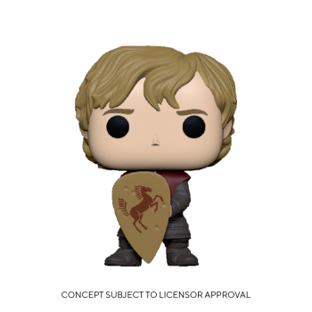 GAME OF THRONES - Funko POP - Tyrion w/Shield
