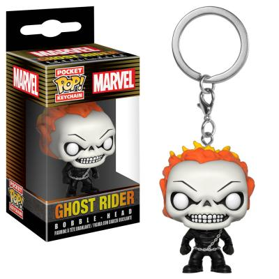 GHOST RIDER - Funko Pocket POP Keychain - Ghost Rider Vinyl Figure 10cm
