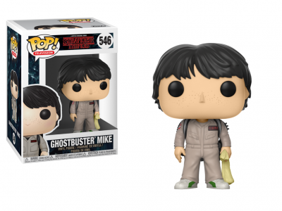 STRANGER THINGS - Funko POP Television - Ghostbuster Mike Vinyl Figure 10cm