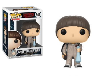 STRANGER THINGS - Funko POP Television - Ghostbuster Will Vinyl Figure 10cm