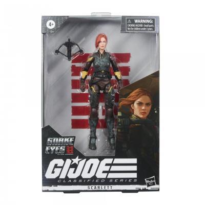 GI JOE - Classified Series Snake Eyes - Scarlett 15cm