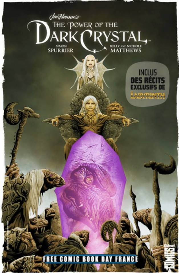 Glenat comics free comic book day france 2019 dark crystal