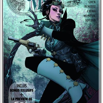 GLÉNAT COMICS - FREE COMIC BOOK DAY FRANCE 2020 - Lady Mechanic Sangre
