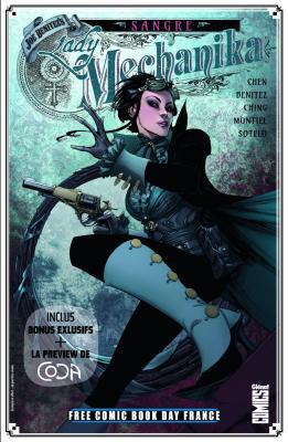 GLÉNAT COMICS - FREE COMIC BOOK DAY FRANCE 2020 - Lady Mechanic Sangre