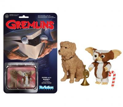 GREMLIES Funko - ReAction Series - Gizmo avec Barney 6cm - Kenner Retro