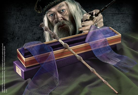Harry potter baguettes ollivander albus dumbledore