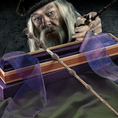 HARRY POTTER - WANDS OLLIVANDER - Dumbledore's