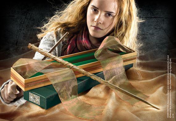 Harry potter baguettes ollivander hermione