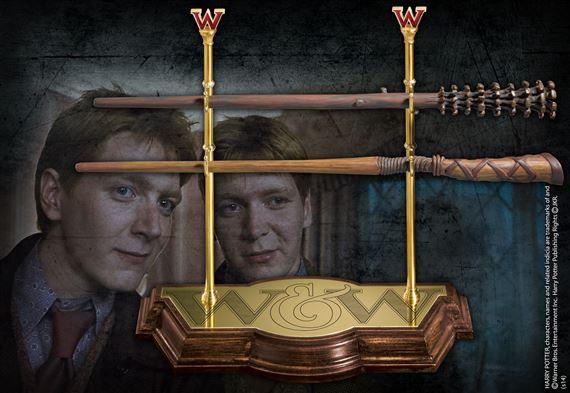 Harry potter baguettes ollivander weasley