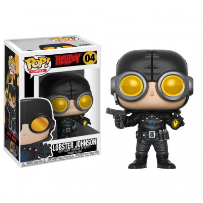 HELLBOY - Funko POP COMICS - LOBSTER JOHNSON Vinyl Figure 10cm