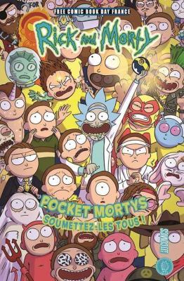 HI COMICS - FCBD FRANCE 2019 - Pocket Mortys  Soumettez-les tous !
