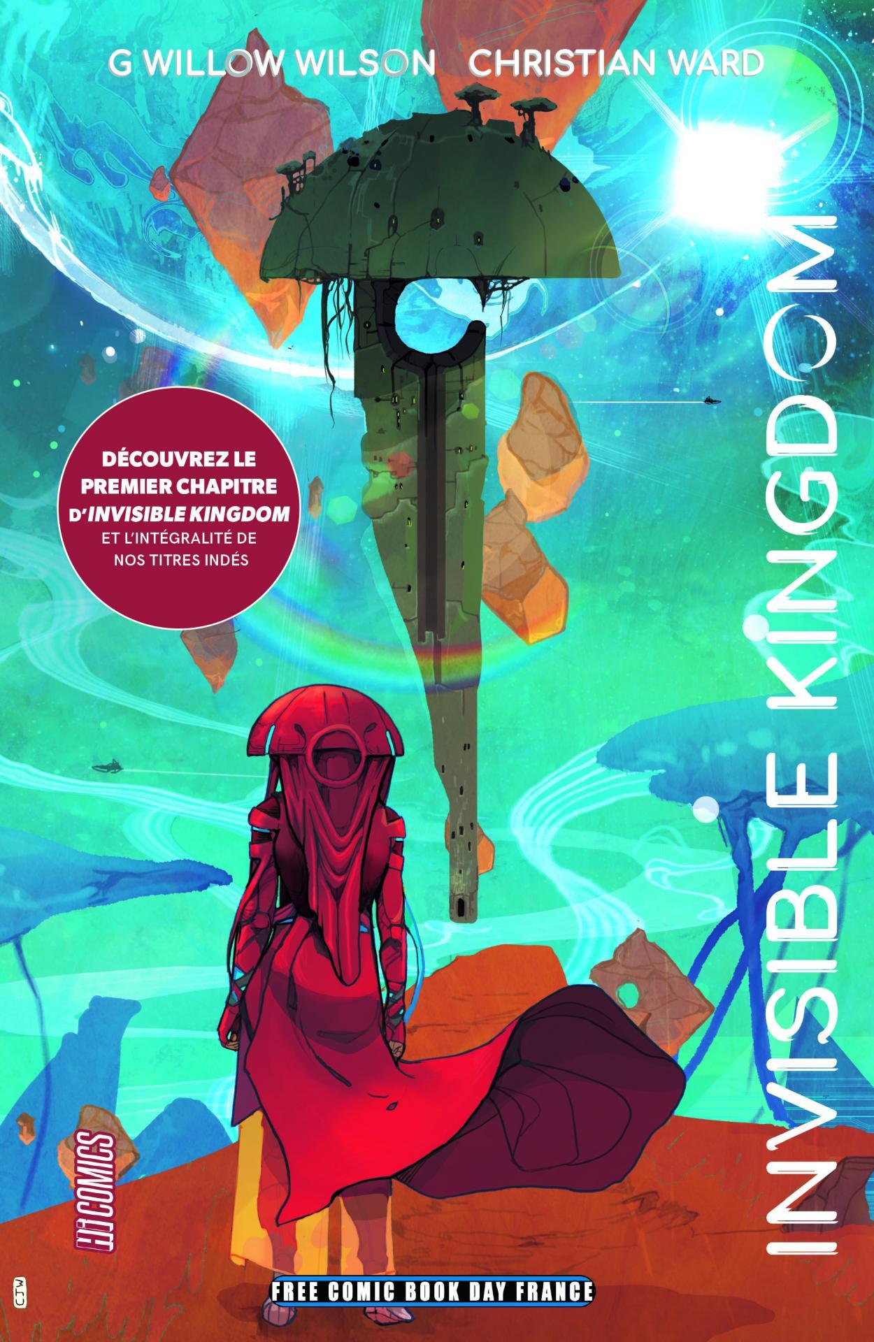 Hi comics fcbd france 2020 invisible kingdom dossier comics inde