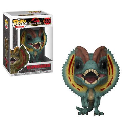 Jurassic park funko pop movies dilophosaurus vinyl figure 10cm