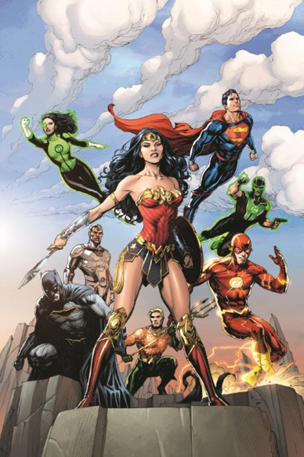 Justice league rebirth 1 urban comics
