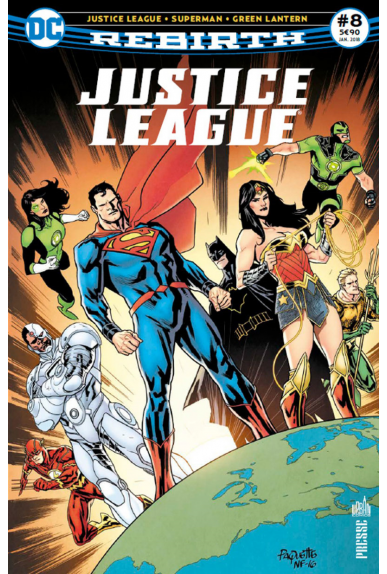 Justice league rebirth 8 urban comics