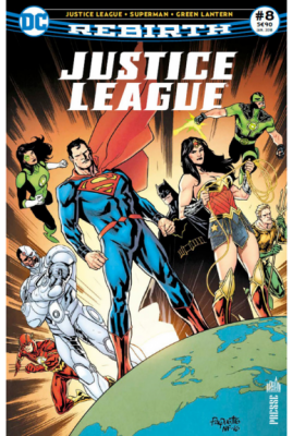 JUSTICE LEAGUE REBIRTH 8 - Urban Comics