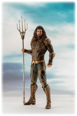 Justice League The Movie - AQUAMAN 1/10 Scale ARTFX+ Statue 19cm