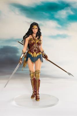 Justice League The Movie - WONDER WOMAN 1/10 Scale ARTFX+ Statue 19cm