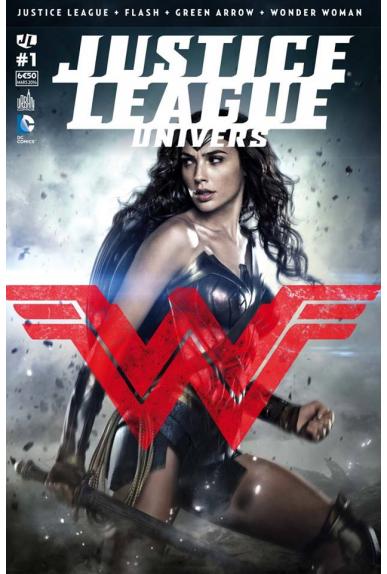 Justice league univers 1 couverture variante urban comics