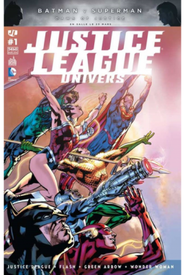 JUSTICE LEAGUE UNIVERS 1 - Urban Comics