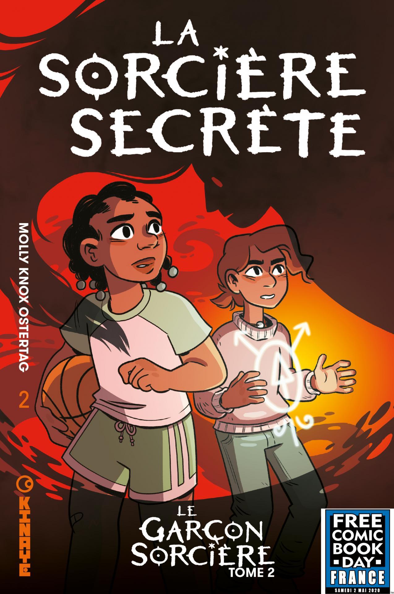 Kinaye comics fcbd france 2020 la sorciere secrete