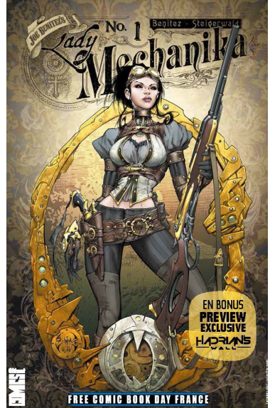 Lady mechanika free comic book day france 2016