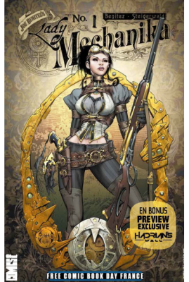 LADY MECHANIKA - FREE COMIC BOOK DAY FRANCE 2016