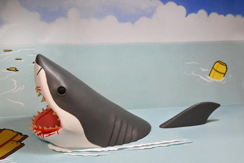 Les dent de la mer neca toony terrors jaws quint 2 pack3