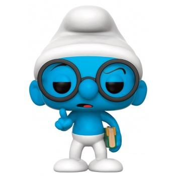 LES SHTROUMPFS - Funko POP Animation - Brainy Smurf 10cm