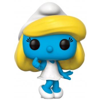 Les shtroumpfs funko pop animation smurfette vinyl figure 10cm